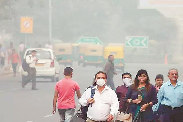 air pollution is becoming the cause of death of people