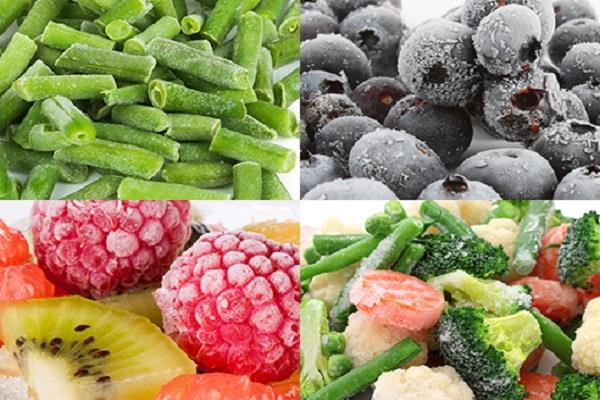 nutrition frozen fruits vegetables