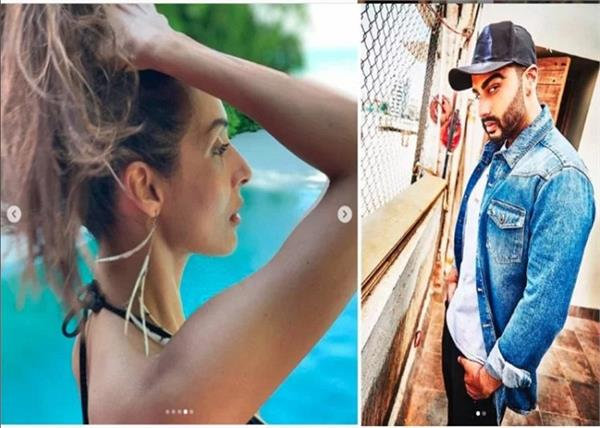 arjun kapoor pulling malaika arora s leg on instagram is everything cute