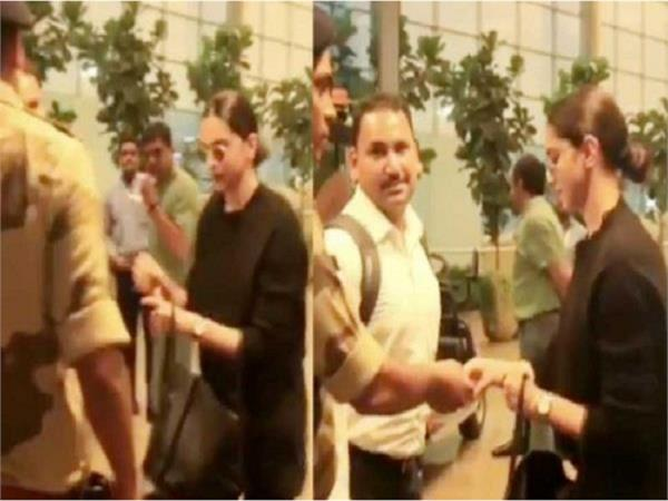 deepika padukone asked for id at mumbai airport