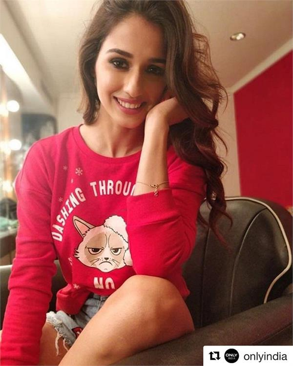 disha patani welcomes a new member to her family
