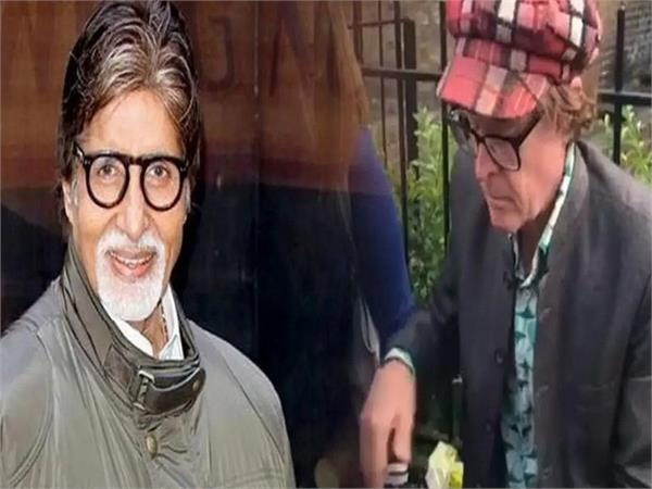 amitabh bachchan shares video foreigner sell bhel puri