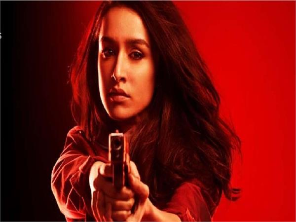 shraddha kapoor  s first look poster from   saaho