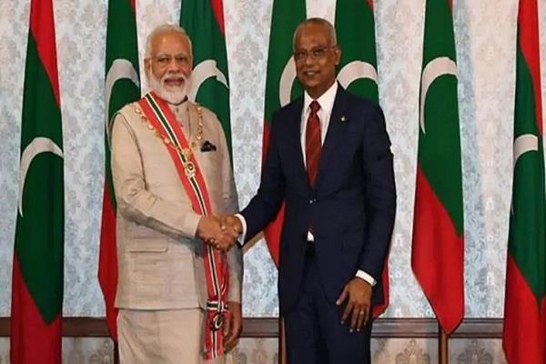 maldives  narendra modi