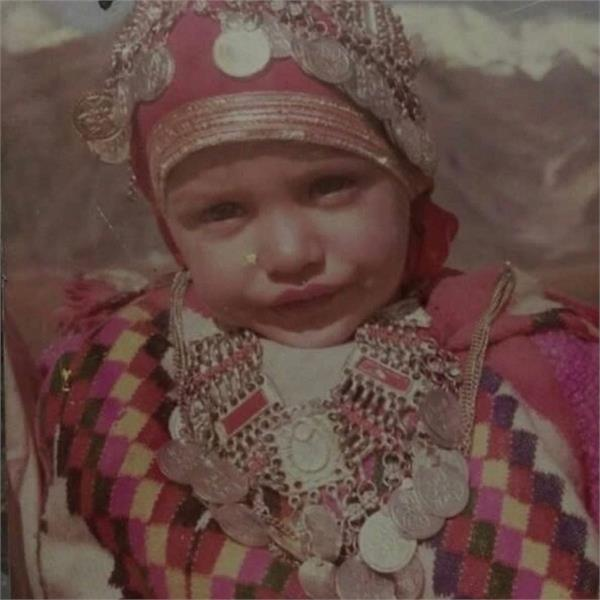 childhood pictures in punjabi celebrity