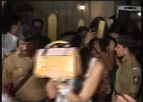 high profile rave party raid bollywood and tv actress arrested by mumbai police