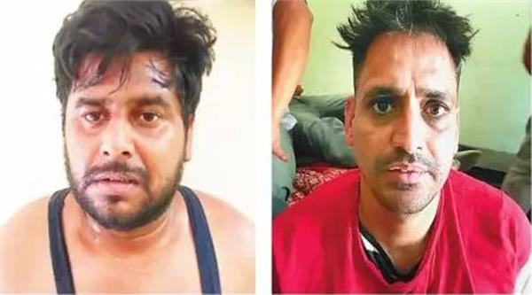 punjab police  gangster  arrested