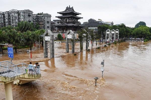 flood leaves 5 dead china
