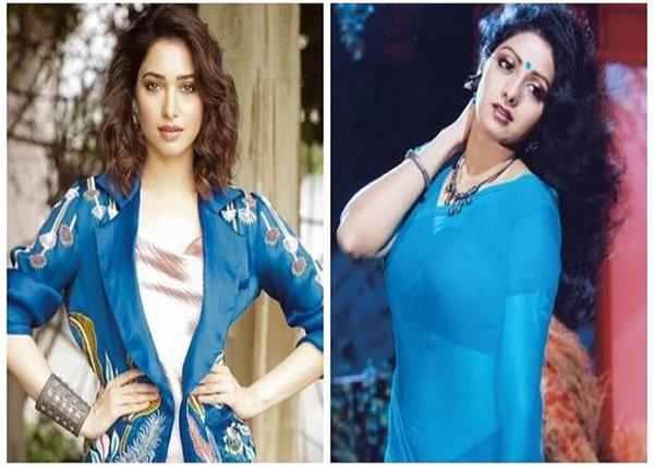 tamannaah bhatia wants to act in sridevi biopic
