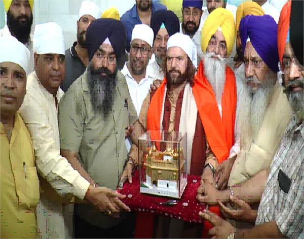 amritsar  sri harmandir sahib  hans raj hans