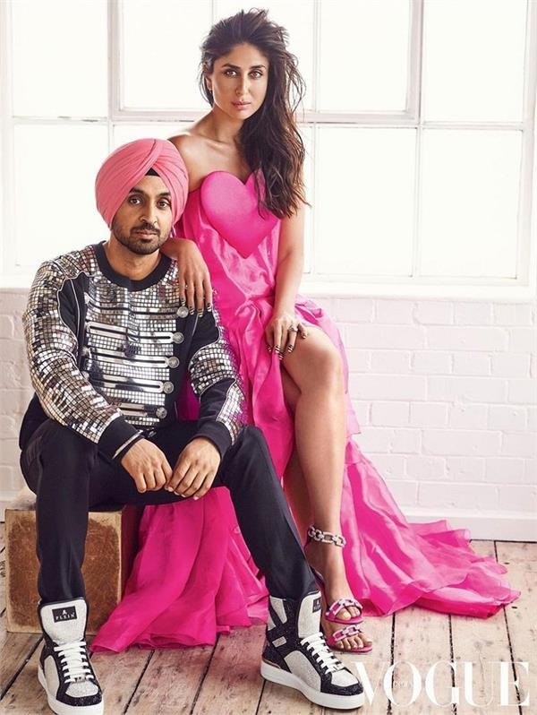kareena kapoor and diljit dosanjh latest photoshoot
