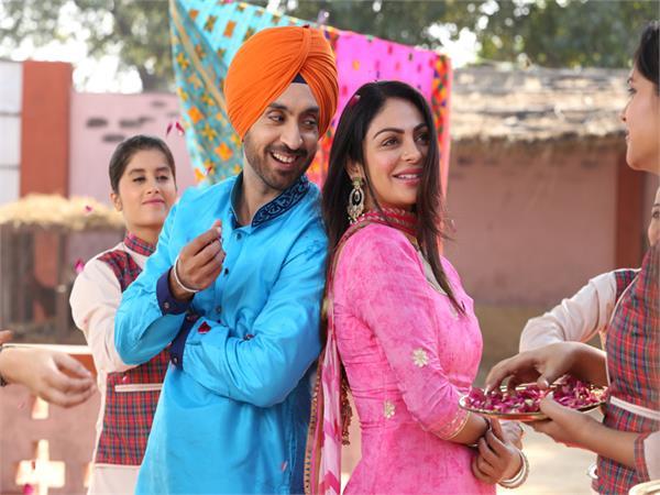 diljit dosanjh with neeru bajwa film after 4 years