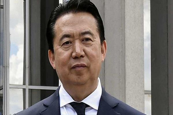 china  meng hongwei