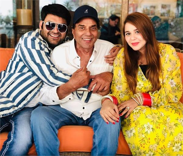 kapil and ginni chatrath latest pic