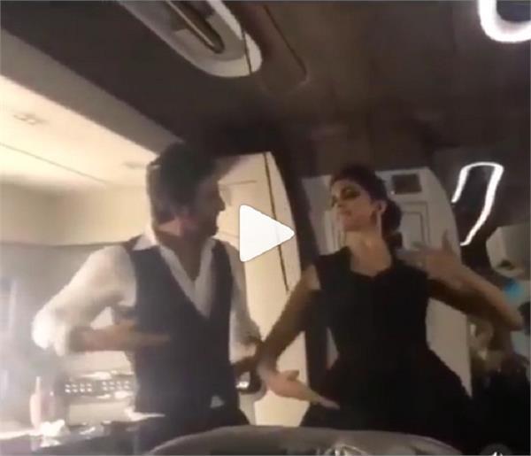 ranbir kapoor  deepika padukone dance to balam pichkari in viral video