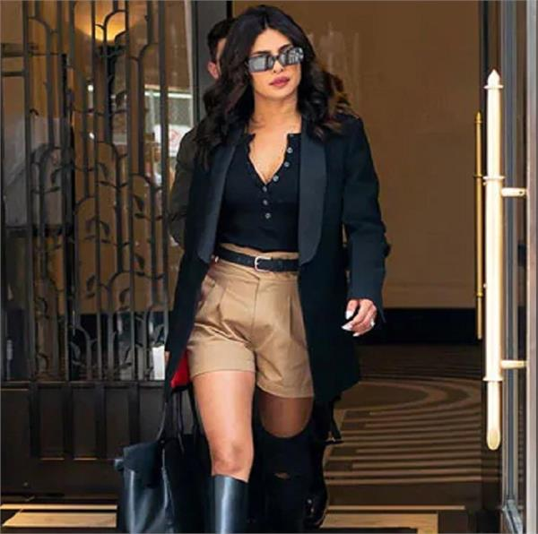 rss swag priyanka chopra trolled for wearing khaki shorts
