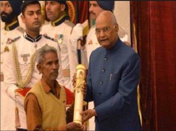 padmashree award became trouble for daitri nayak