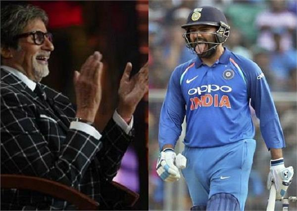 amitabh bachchan is super impressed with rohit sharma