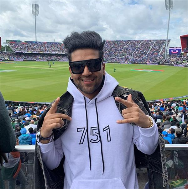 guru randhawa watching world cup