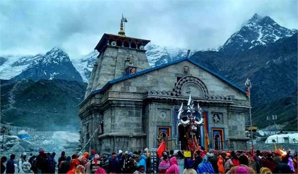more than 7 lakh pilgrims  kedarnath darshan