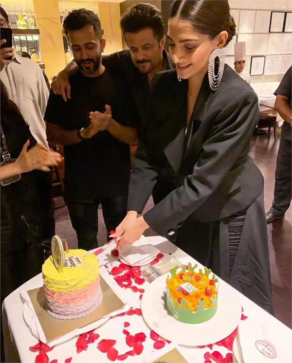 sonam kapoor birthday celibration
