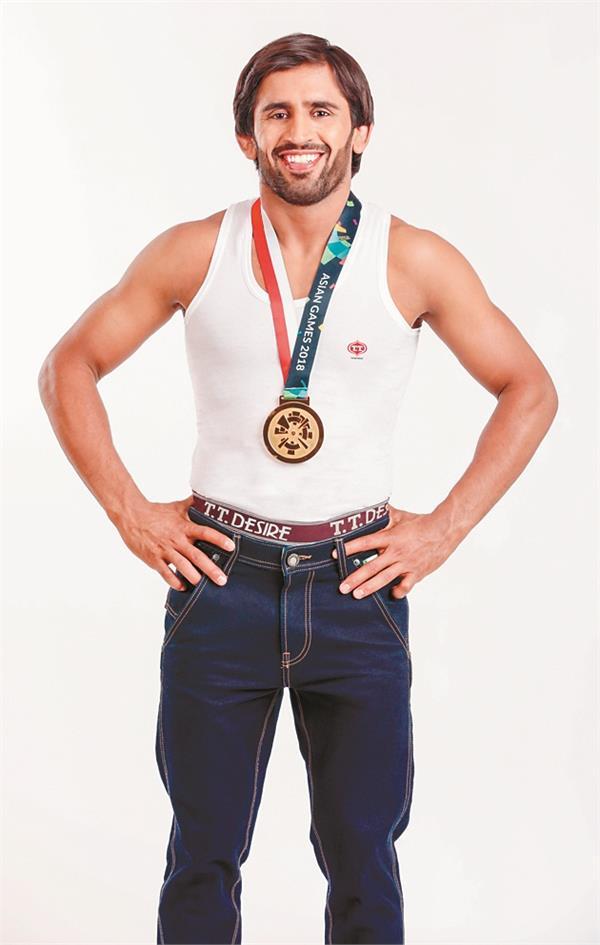 wrestler bajrang punia brand ambassador