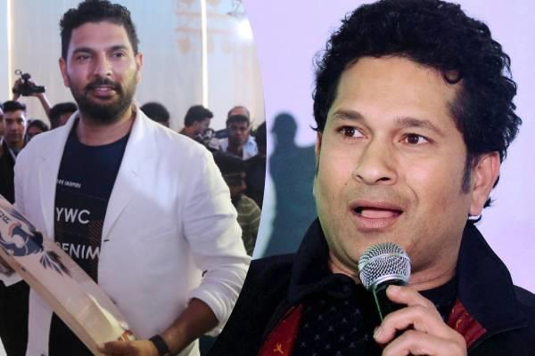 tendulkar said on yuvraj  s contribution  you also thanked for his cricket