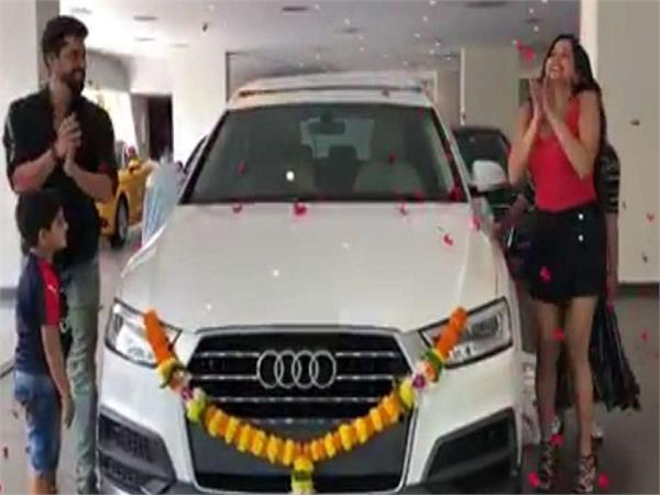 nazar fame monalisa buys a spanking new car