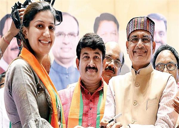 bjp core group sapna chaudhary meeting