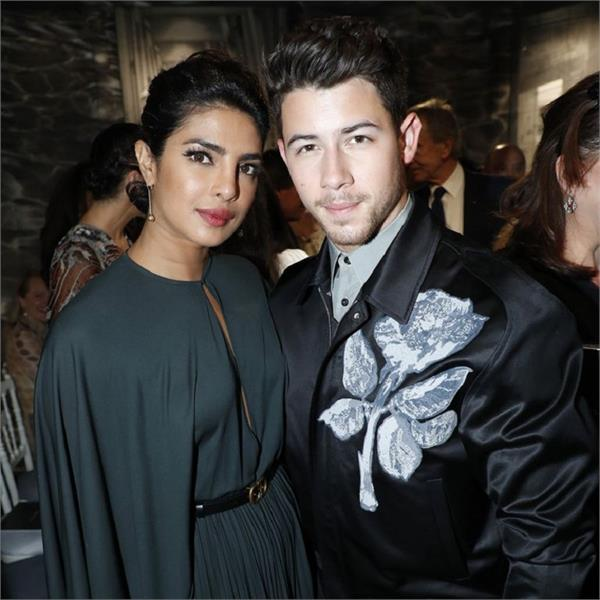 priyanka chopra paris fashion week nick jonas