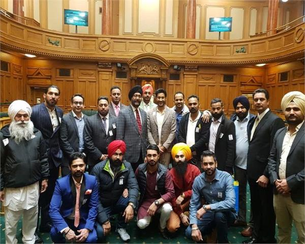 harbhajan mann was honored in the new zealand parliament