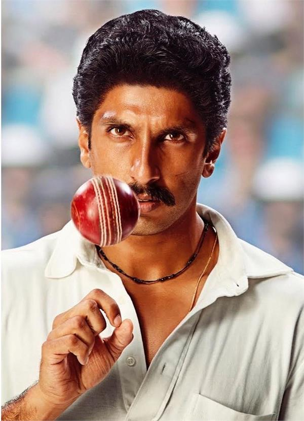 presenting his first look as kapil dev in 83 howzzat