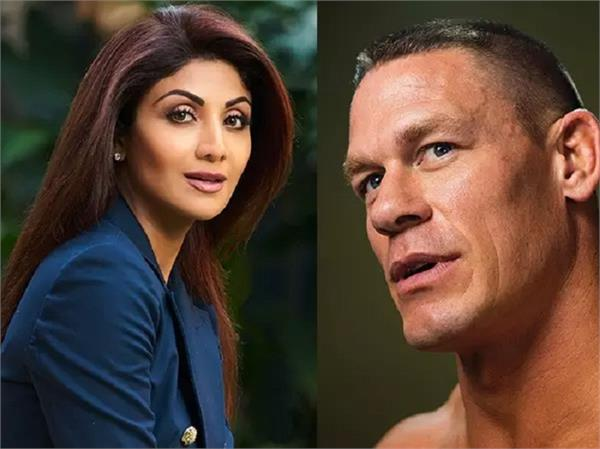 john cena posts a picture of shilpa shetty and leaves everyone confused