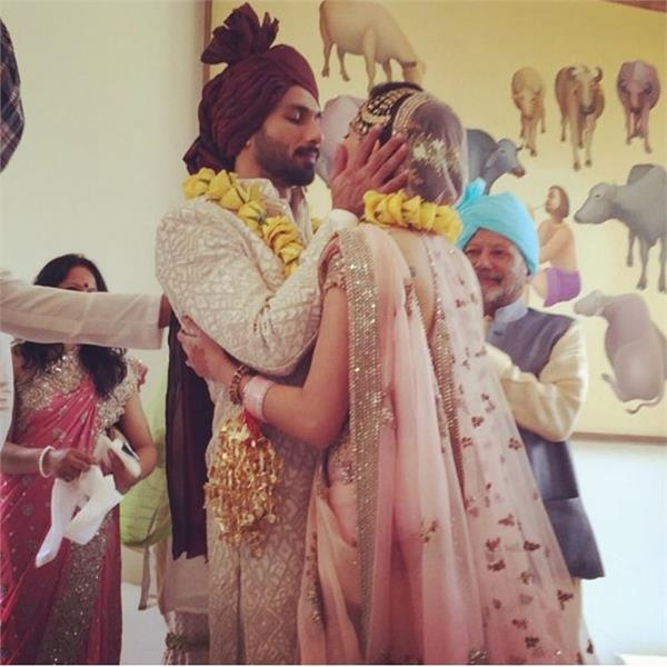 shahid kapoor and mira rajput marriage anniversary celebrated