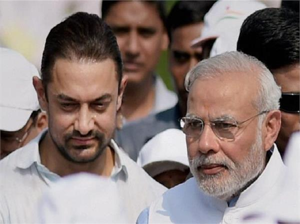 pm modi praises aamir khan on jal shakti abhiyan