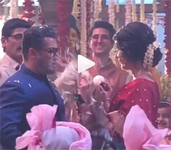 salman khan and katrina kaif  s bts wedding video viral