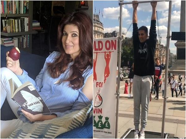 twinkle khanna akshay kumar instagram video