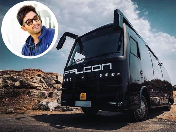 allu arjun bought a luxury vanity van
