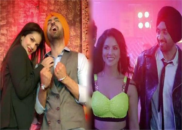 diljit dosanjh  s epic reaction when sunny leone touched him for the first time