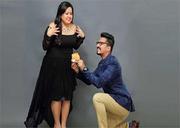 bharti singh gets an expensive watch from husband as birthday gift