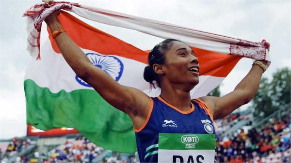 indian sprinter hima das wins 3rd international gold within 11 days