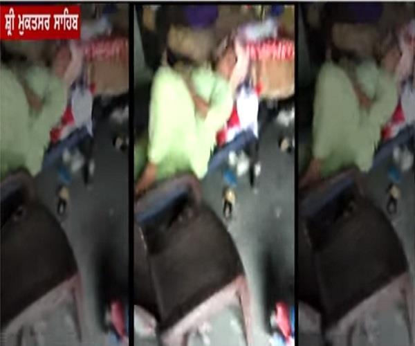 sri muktsar sahib  drug  video viral