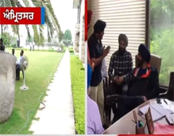 amritsar navjot singh sidhu meeting