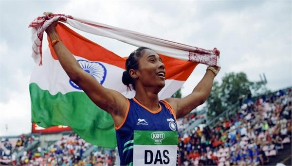 hima das close to his best performance  high performance director