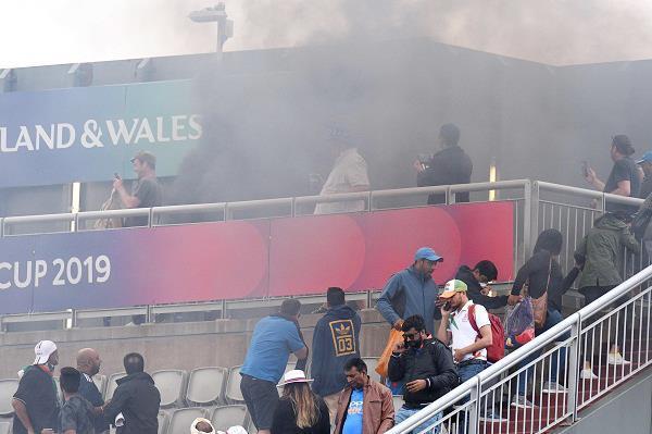 team india  loses  fire  stadium  pictures