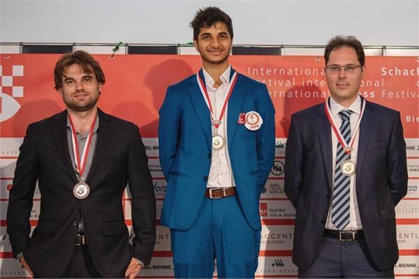 bell international chess winner becomes india s fiduciary gujarati
