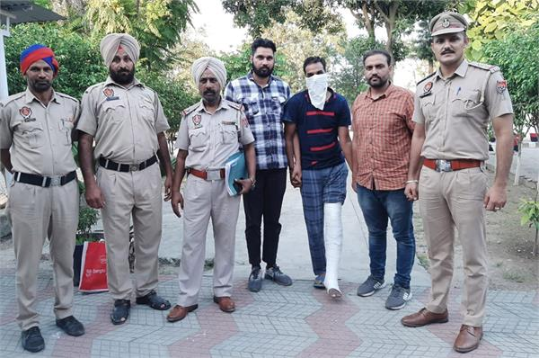 pulwama arrested for cheating on father