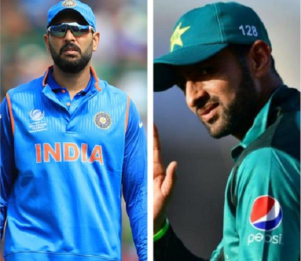 yuvraj tweeted a thank you to this pakistani player