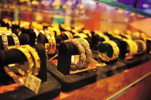 gold prices rise by jumping