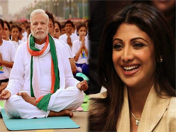 shilpa shetty joins pm narendra modi  s fit india committee